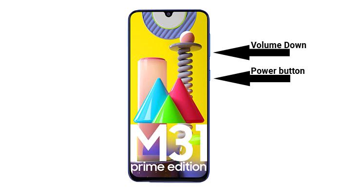 galaxy m31 prime screenshot