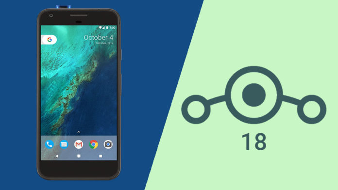 google pixel lineageos 18
