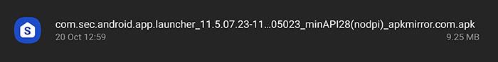 one ui 3.1 apk screenshot