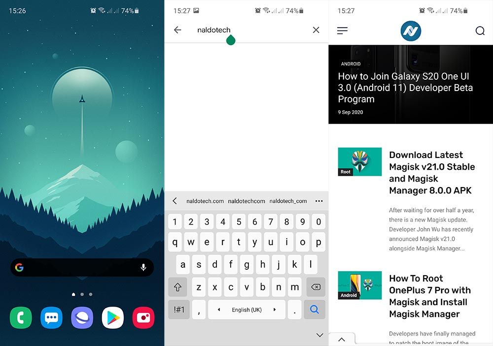 one ui 3 ported apps