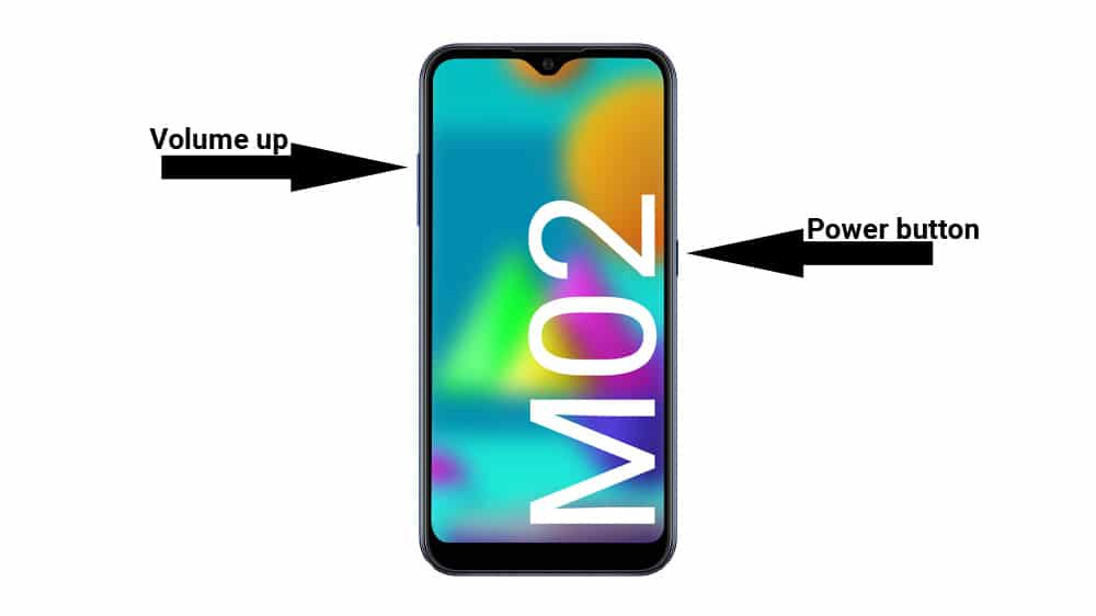 galaxy m02 recovery button combination