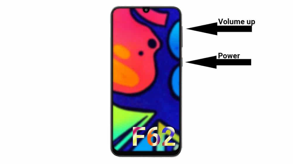 galaxy F62 recovery mode key combination