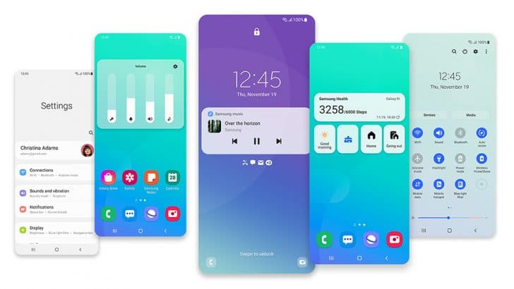 one ui 3.1 galaxy s10 lite